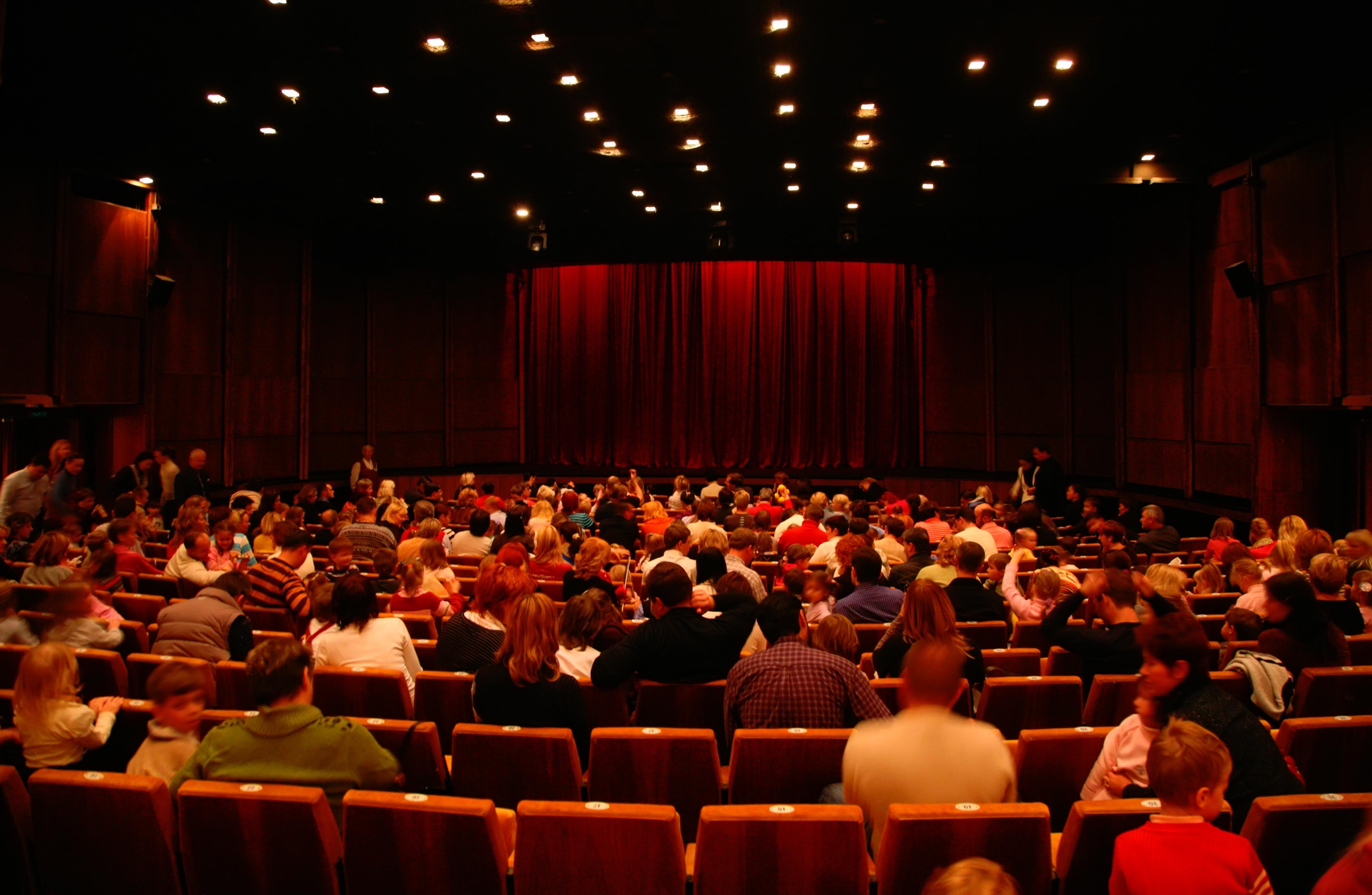 Cinéma avant la séance - M2 Industrie Audiovisuelle P8