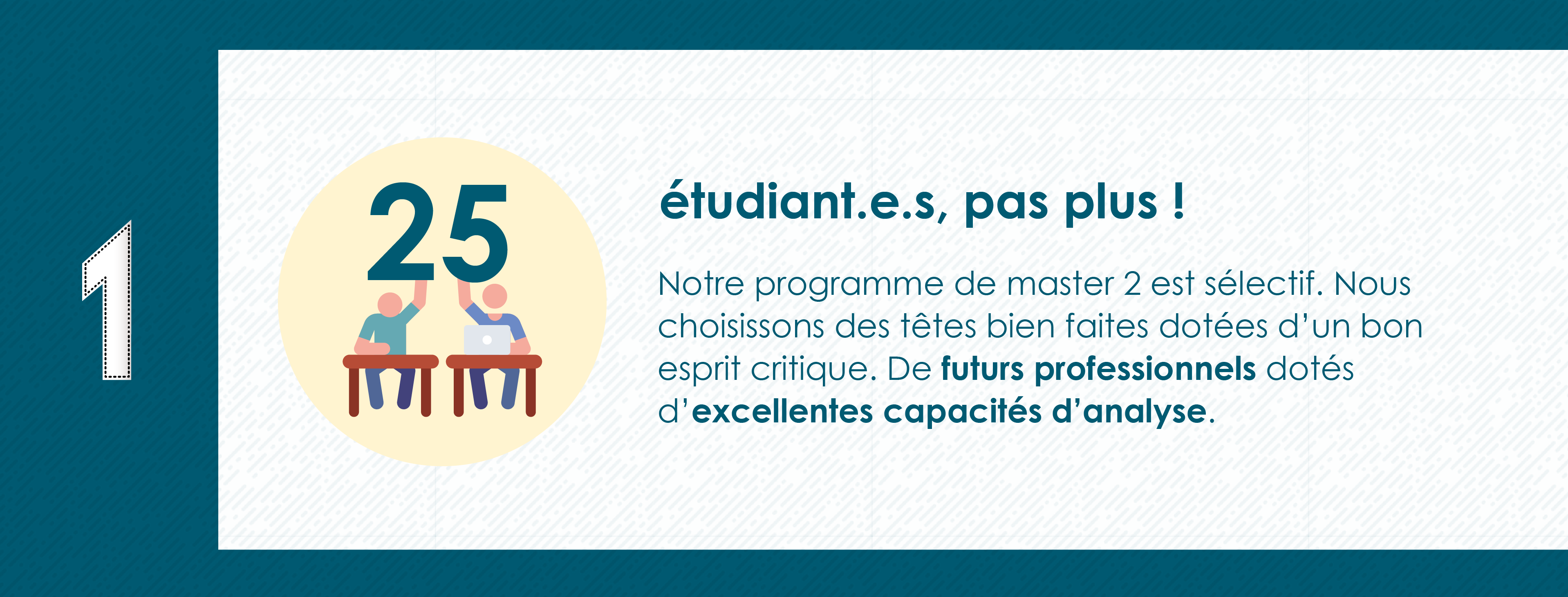 Pourquoi rejoindre le Master 2 Industrie Audiovisuelle de Paris 8 - 25 étudiants max