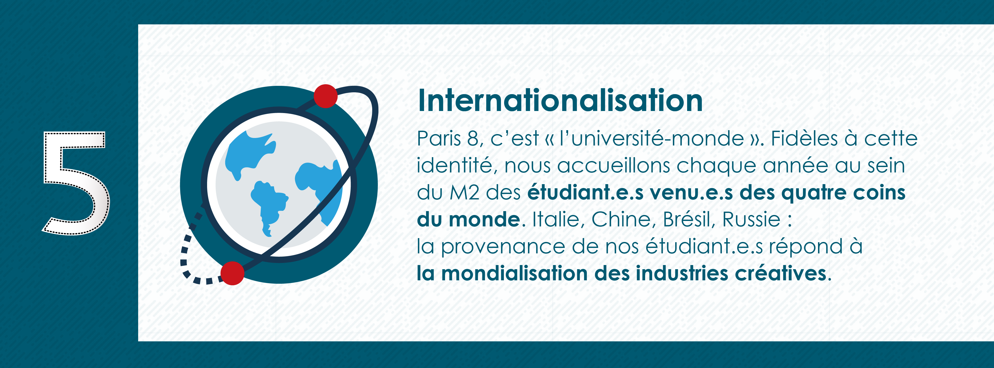 Pourquoi rejoindre le Master 2 Industrie Audiovisuelle de Paris 8 - Université Monde
