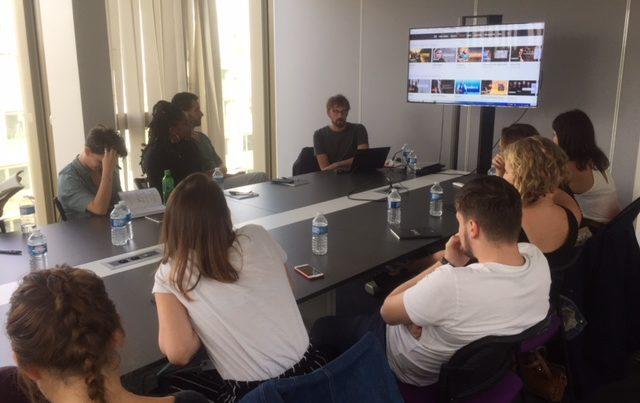 Journée d'intégration - Master 2 Industrie Audiovisuelle