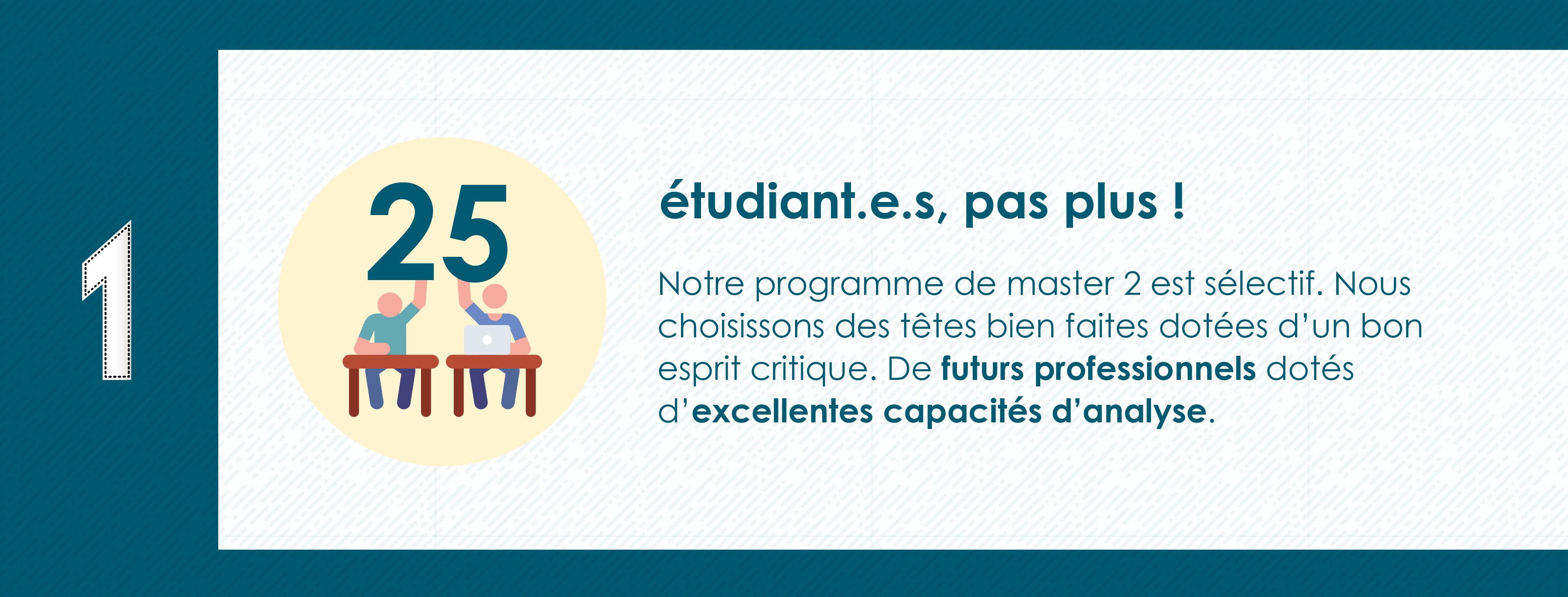 Pourquoi rejoindre le Master 2 Industrie Audiovisuelle de Paris 8 - 25 étudiants max