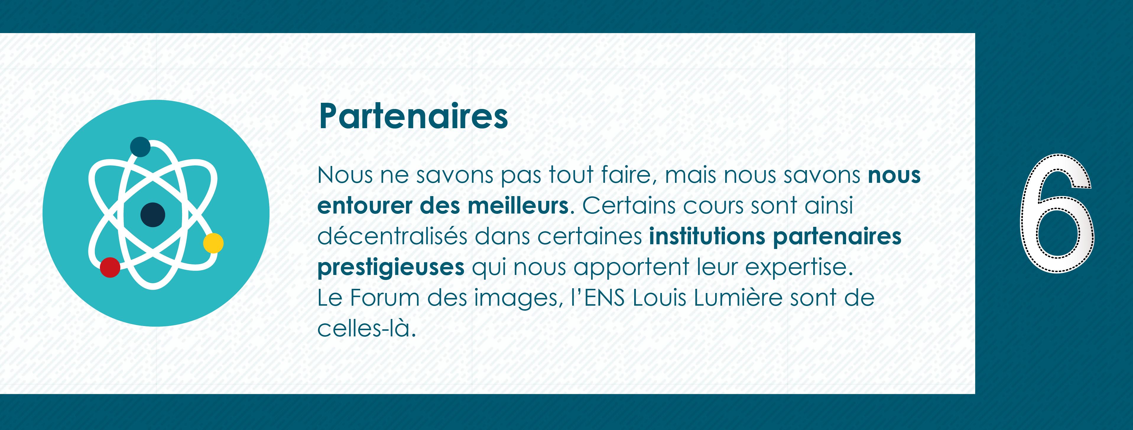 Pourquoi rejoindre le Master 2 Industrie Audiovisuelle de Paris 8 - Nos Partenaires