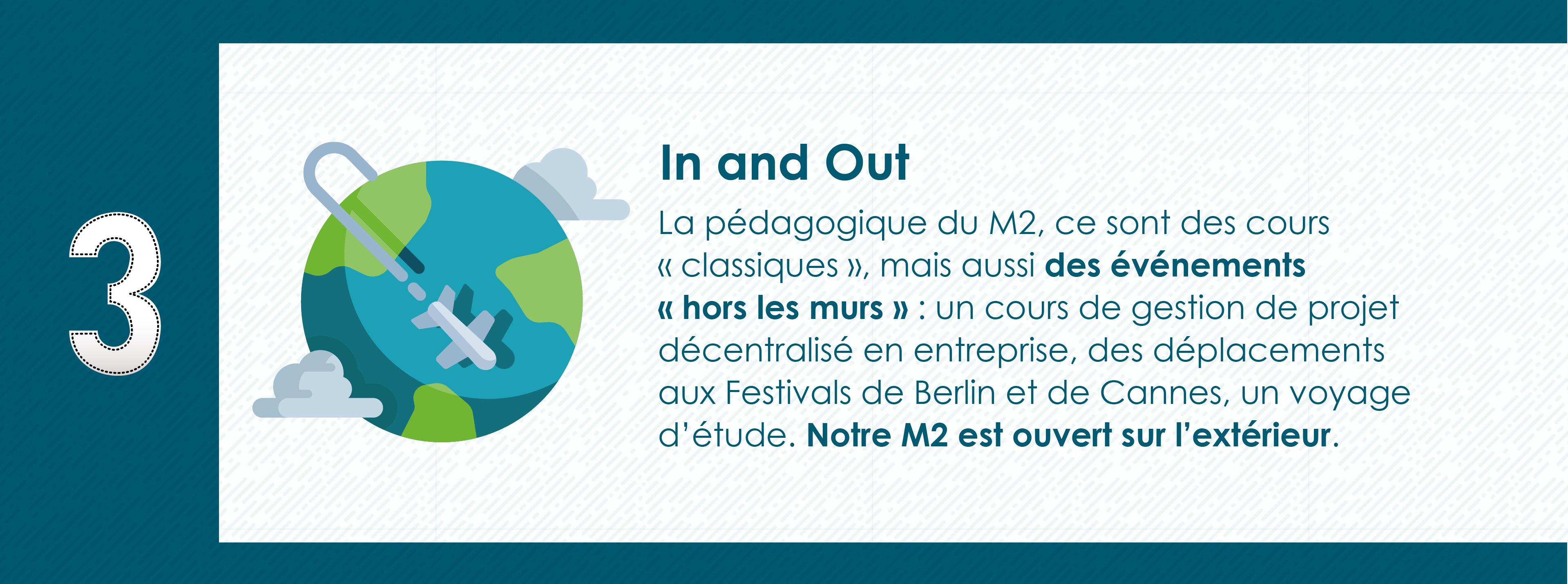 Pourquoi rejoindre le Master 2 Industrie Audiovisuelle de Paris 8 - Un Master ouvert sur l'extérieur