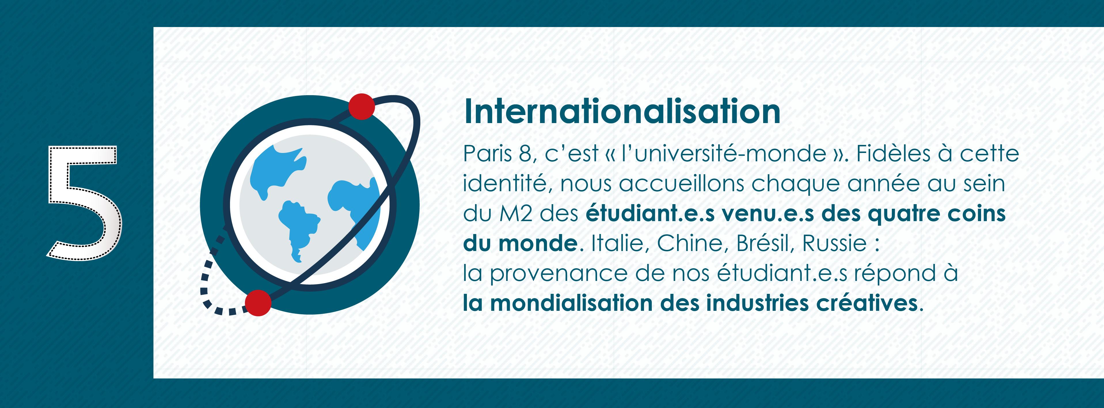 Pourquoi rejoindre le Master 2 Industrie Audiovisuelle de Paris 8 - Université Monde