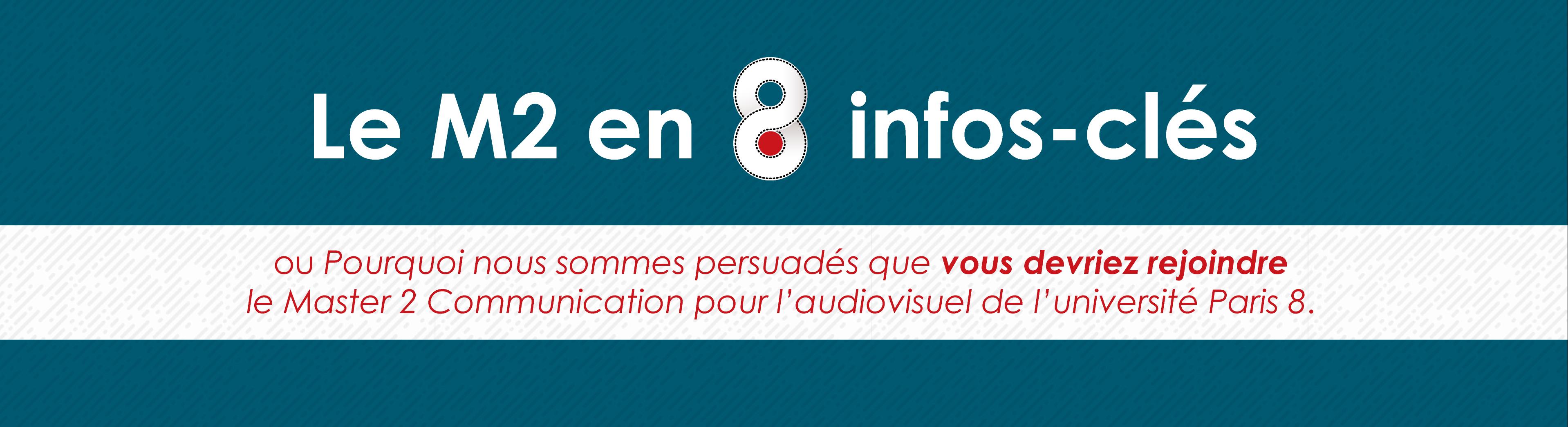 Pourquoi rejoindre le Master 2 Industrie Audiovisuelle de Paris 8 - Header